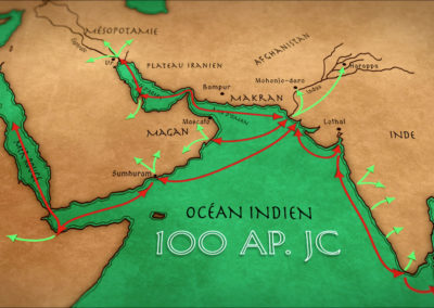 Oman et la Mer Map Graphics